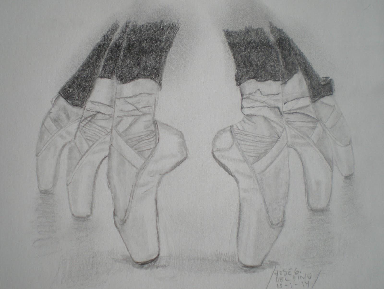 Dibujos Y Pinturas: Ballet En Grupo