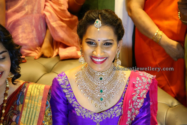 Amuktha Fine Jewellery Diamond Designs