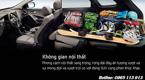 Tiện nghi Hyundai SantaFe