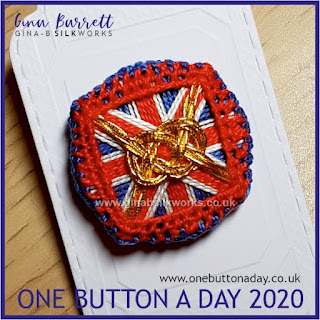 One Button a Day 2020 by Gina Barrett - Day 31 : Unity