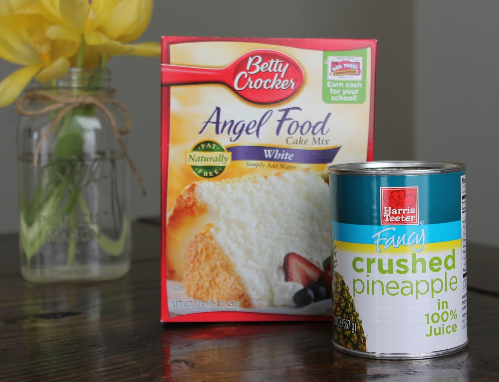 Pineapple Angel Food Cake Carolina Charm