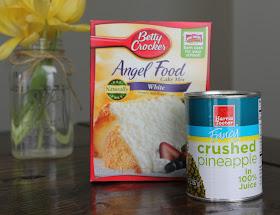 Carolina Charm Pineapple Angel Food Cake