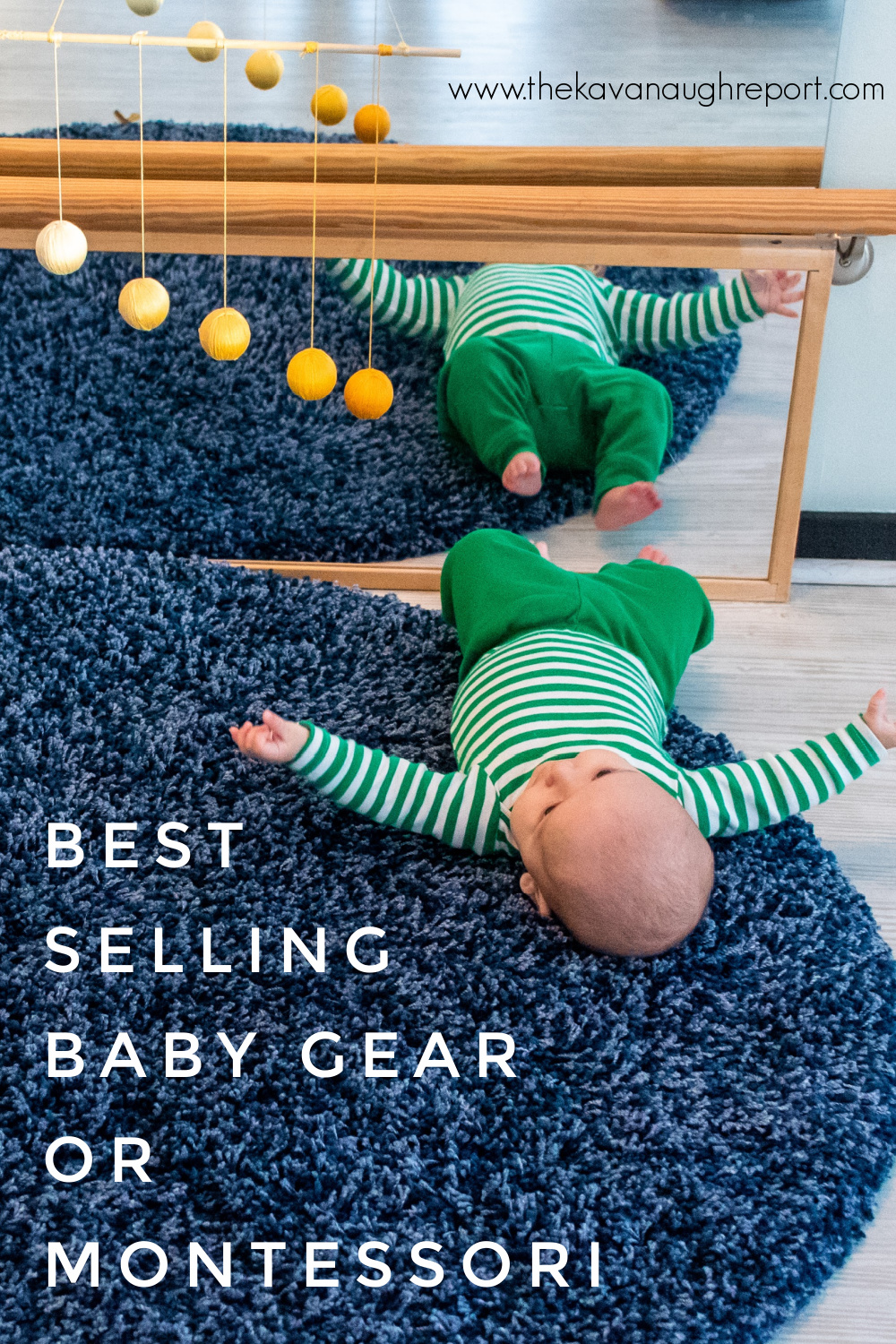"""Montessori baby spaces and activities that can replace popular """"best selling"""" baby toys and gear. Simple, natural experiences for babies are better."""