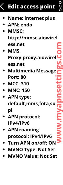 Cricket Wireless 5G APN settings