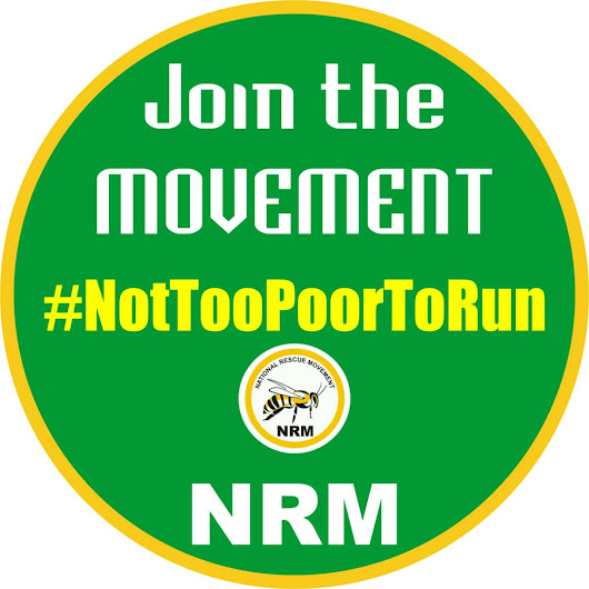 NRM Set To Launch #NotTooPoorToRun Campaign Ahead Of 2019 General Elections