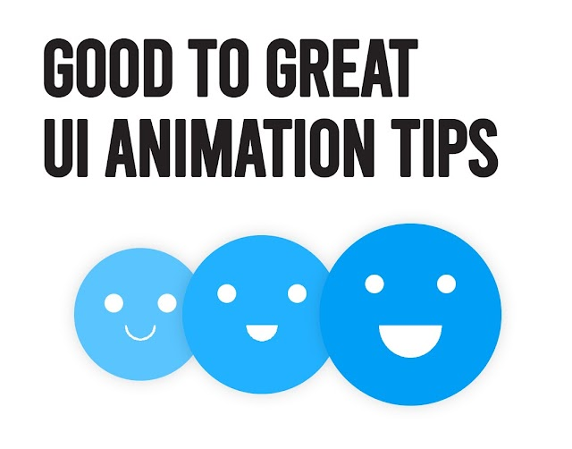 Some of the UI animation tips