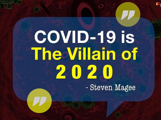Coronavirus 2020 Villian