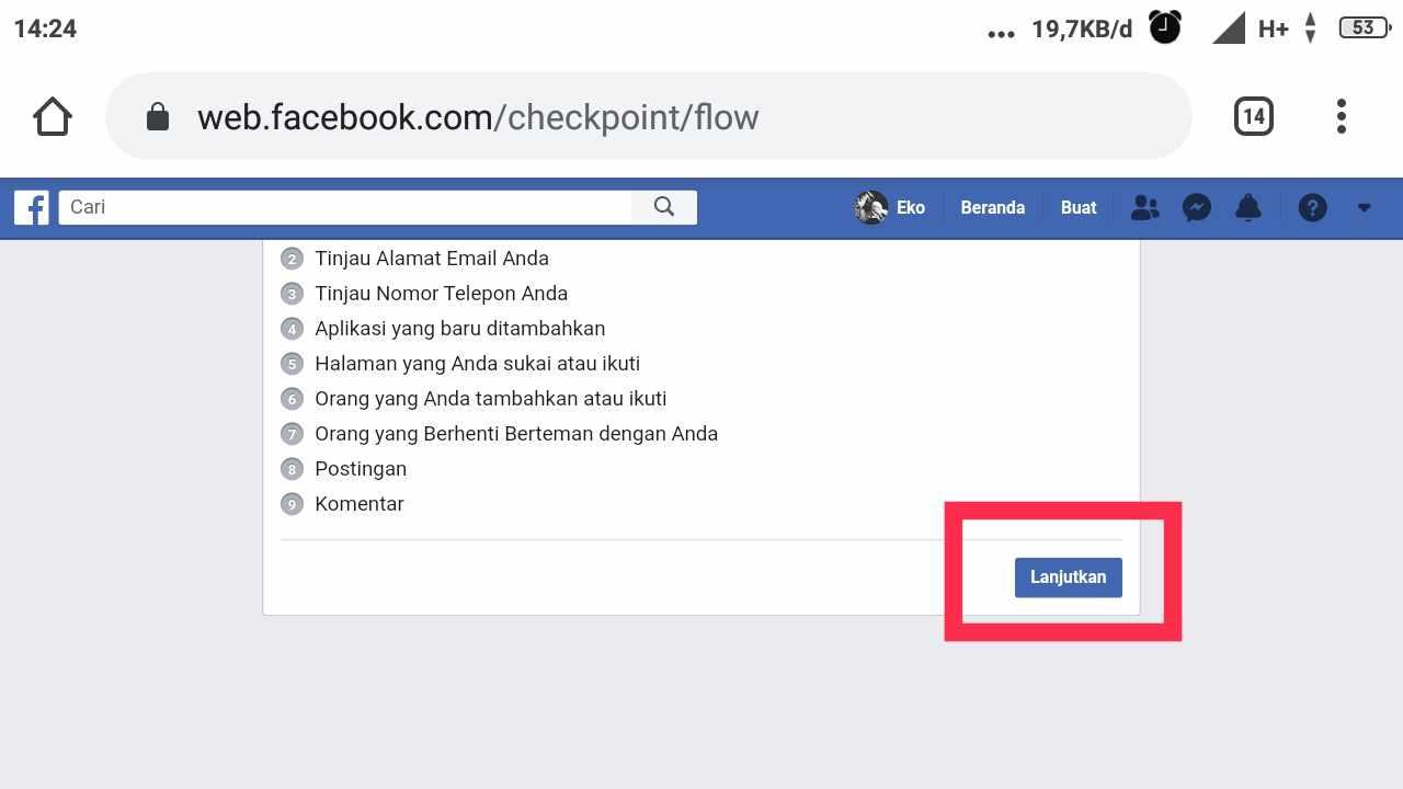 cara melihat permintaan pertemanan terkirim di fb android