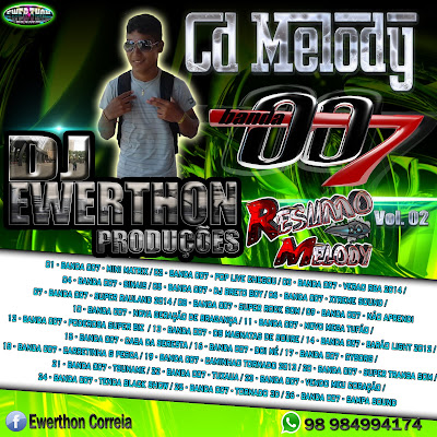 CD MELODY BANDA 007 VOL.02