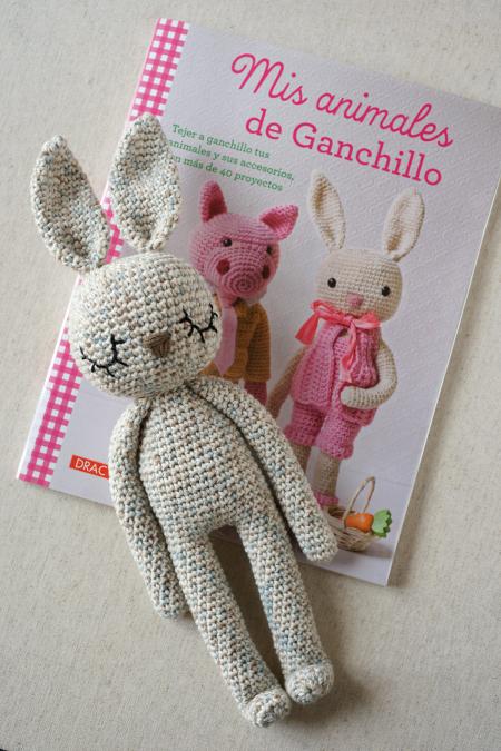 Conejo Kawaii Amigurumi Patron : Lanukas: Todo un senor conejo