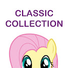 My Little Pony Classic Series G4 Brushables Ponies