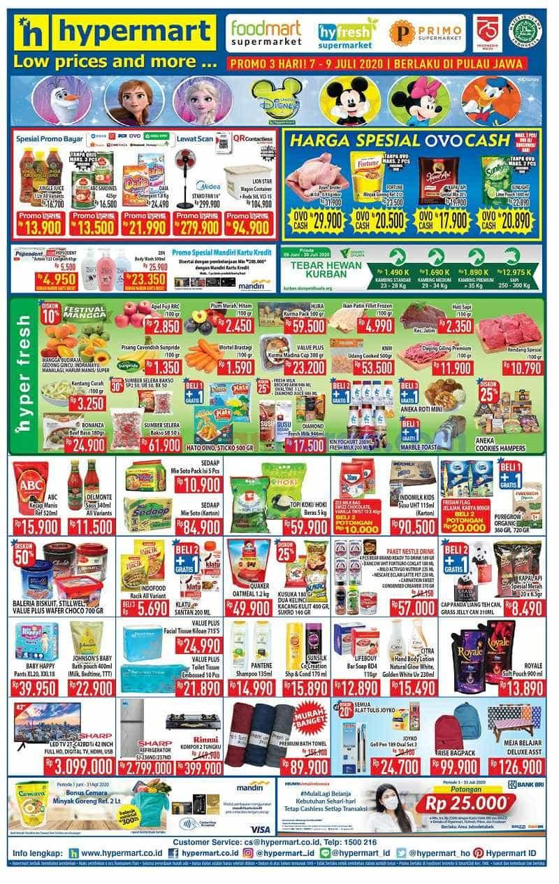 Katalog Promo Hypermart Weekday Terbaru 7 - 9 Juli 2020 1