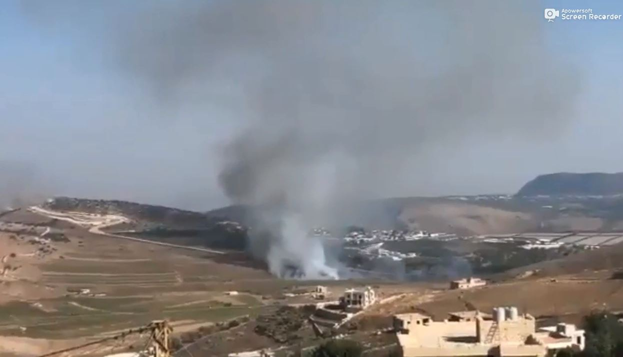 Hezbollah attacked Israel military position with a missile