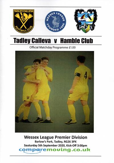 Tadley Calleva FC programme