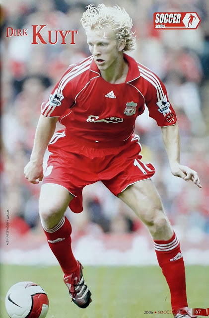 DIRK KUYT OF LIVERPOOL