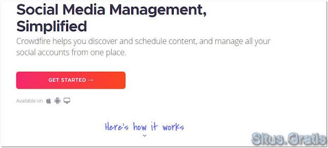 Crowdfire membantu Anda mengelola akun Twitter Anda dengan lebih efisien