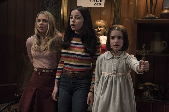 Download Annabelle Comes Home (2019) Dual Audio 720p HQ HDRip | MoviesBaba 3