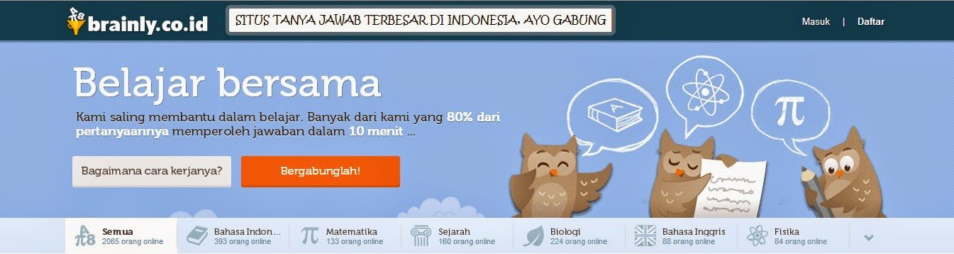 Seputar Brainly.Co.Id | Situs Pembelajaran Sosial Paling Populer Di Indonesia