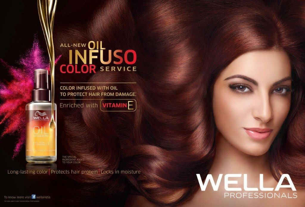 Wella, Wella Oil Infuso Color Service, Wella Oil Reflections, Hair treatment