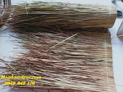 Cung cấp nguyên liệu cỏ tranh