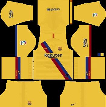Download Kit DLS Barcelona Away 2019 - 2020