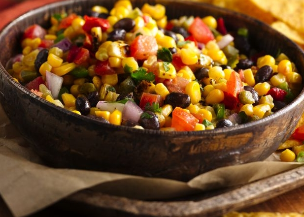 Mexican Chicken Stew With Toasted Corn Salsa Recipe