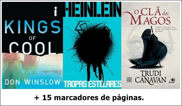 Aquela epifania maro 2016 1 exemplar do livro kings of cool do autor don winslow ventos do outono 1 exemplar do livro tropas estelares do autor robert a heinlein seja cult fandeluxe