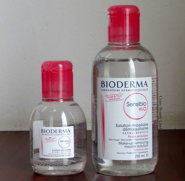 Bioderma Sensibio H2O Makeup Removing Micelle Solution Ingredients Price Review Demo