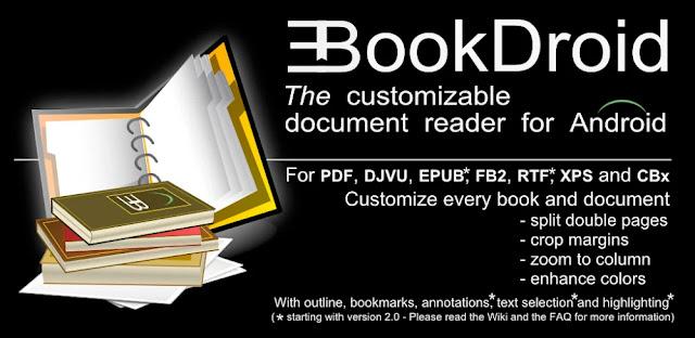 تنزيل EBookDroid - PDF & DJVU Reader  قارئ  كتب احترافي للاندرويد