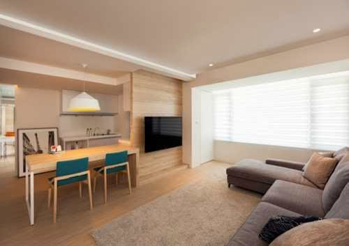 modern apartment interior design maximizes space