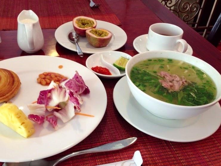 vietnam-breakfast ベトナムの朝食