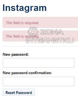Cara Mudah Mereset Password Instagram Karena Lupa Kata Sandi Melalui Web Broswer 3