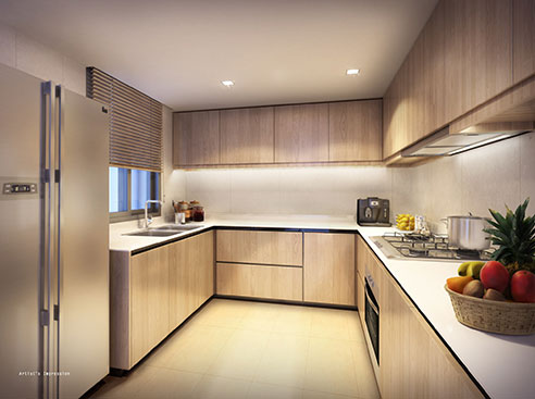 Westwood Residences - Kitchen
