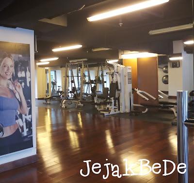 Fasilitas Gym pada Hotel Padma Bandung