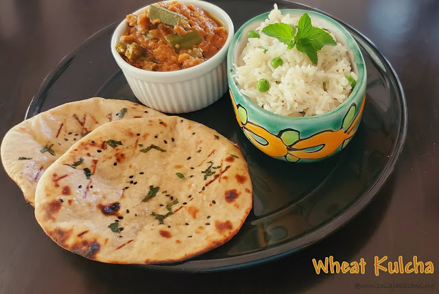 images of Plain Wheat Kulcha / Wheat Kulcha / Whole Wheat Kulcha / Wheat Kulcha Without Yeast