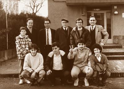 Equipo de ajedrez del C. C. Sant Andreu en 1987