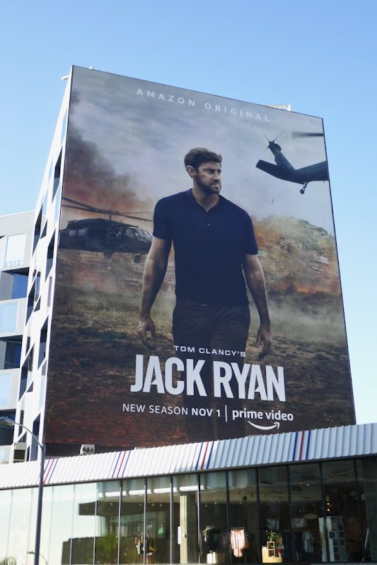 Jack Ryan season 2 billboard