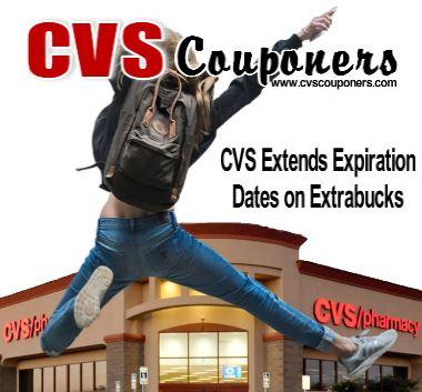 CVS Extends Expiration Dates on Extrabucks Learn more