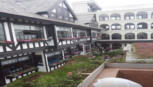 Rumah Gaya Eropa di Wisata Farm House Lembang