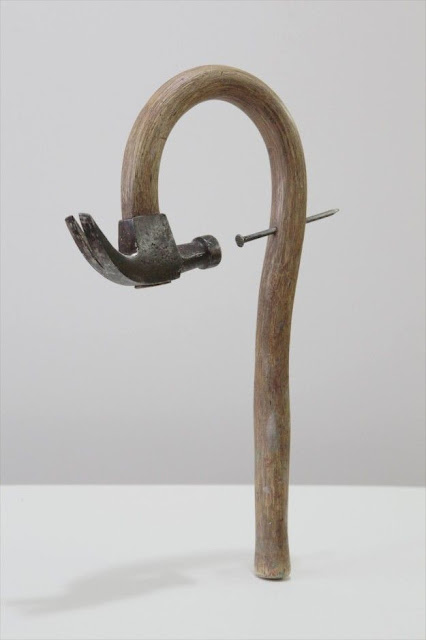 Hammer and nails sculpture Characteristics Of Modern Art.jpg
