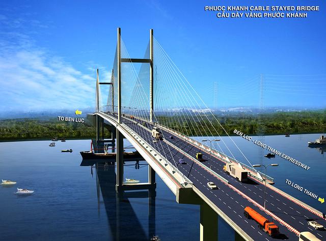 Cầu Phước Khánh nối Cần Giờ Nhơn Trạch