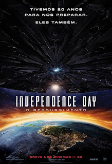 INDEPENDENCE DAY: O RESSURGIMENTO - 2016