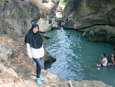 Indahnya Sungai Biru di Pandanharum