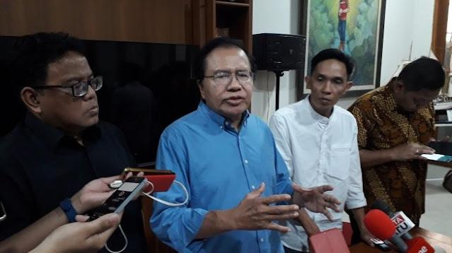 Kata Rizal Ramli Jokowi Lebih Layak Dipenjara Sebab Banyak Tebar Berita Bohong