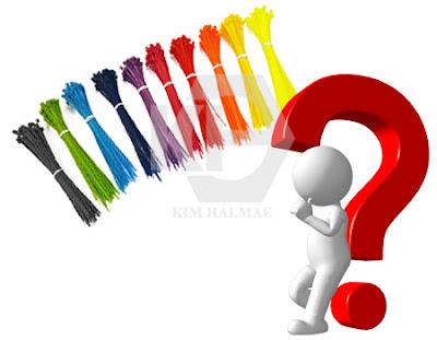 dây thít nhựa màu là gì