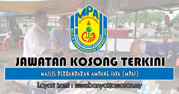 Jawatan Kosong 2018 di Majlis Perbandaran Ampang Jaya (MPAJ)