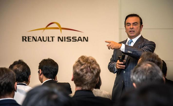 Carlos Ghosn, CEO de la Alianza Renault Nissan, en el marco de la 44° edición del Auto Show de Tokio. (Foto: Nissan)