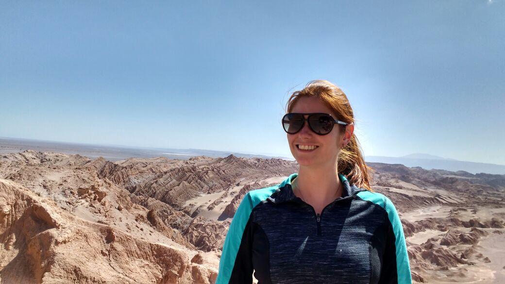 Chegando a San Pedro de Atacama