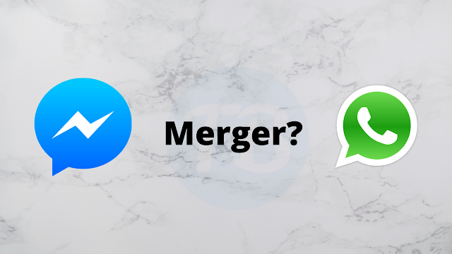 WhatsApp can display bubbles like Messenger, a merger on the way?