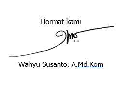 hasil edit tanda tangan